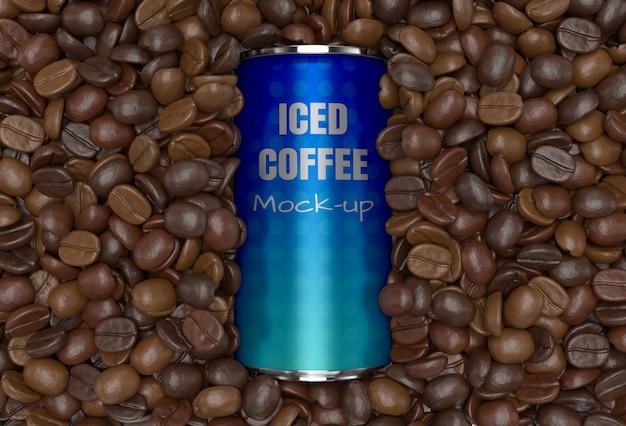 Kaffeedose des modell 3d rendern modell für produktdesign