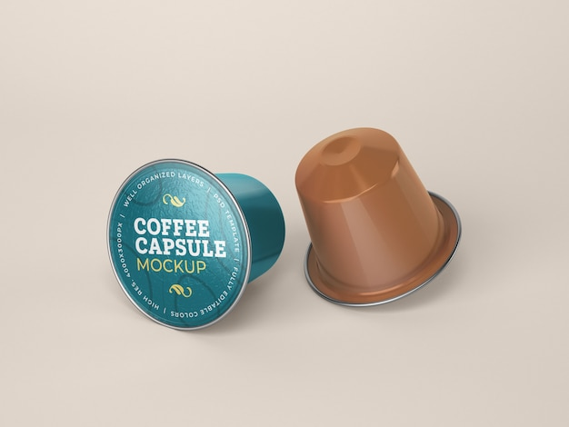 Kaffeekapsel-modell