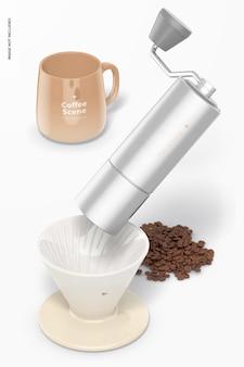 Kaffeeszenenmodell