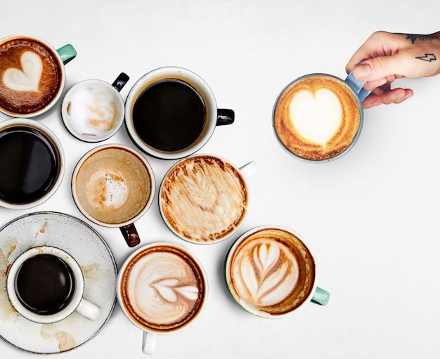 Kaffeetassensammlung