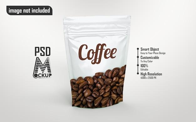 Kaffeeweißbeutelmodell gegen