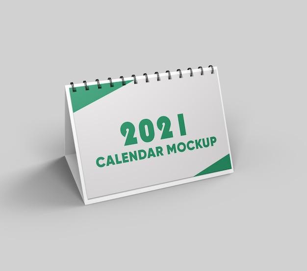 Kalender mockup design isoliert