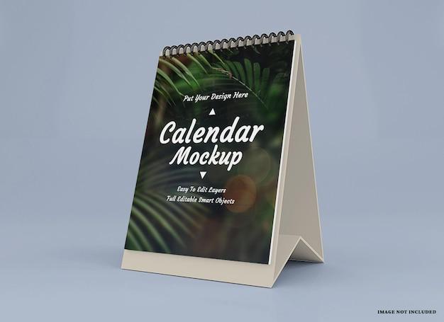 Kalendermodelldesign isoliertes design isoliert