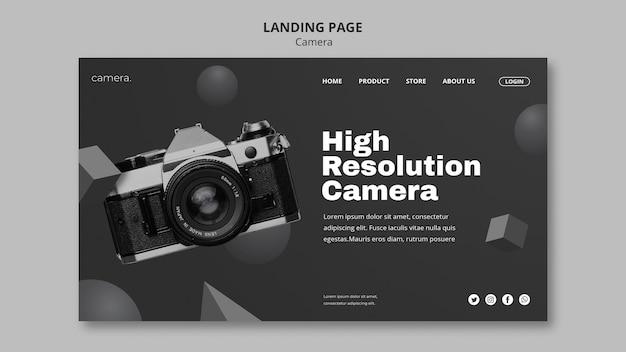 Kamera-landingpage