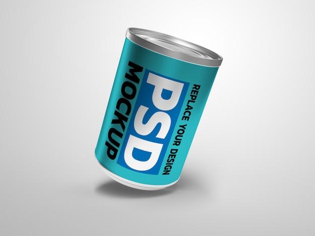 Kann food mockup 3d-rendering-design