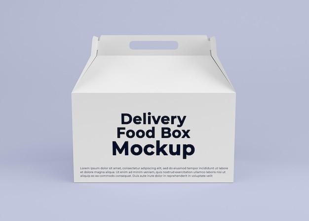 Karton lieferung box mockup design