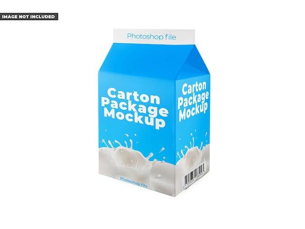 Kartonpaket-modell