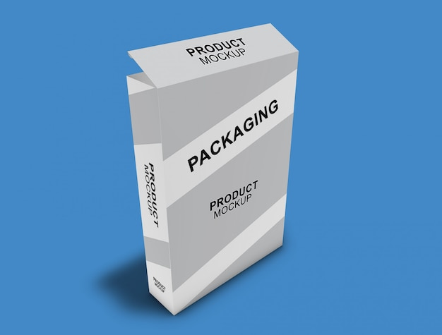 Kartonverpackung mock-up