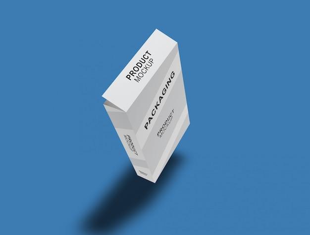 Kartonverpackung mock-up
