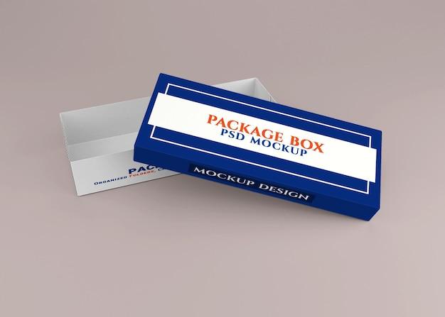 Kartonverpackungs-mockup-design Premium PSD