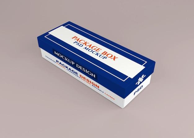 Kartonverpackungs-mockup-design