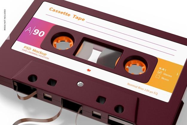 Kassettenband-modell, nahaufnahme