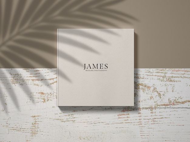 Katalog hardcover mockup