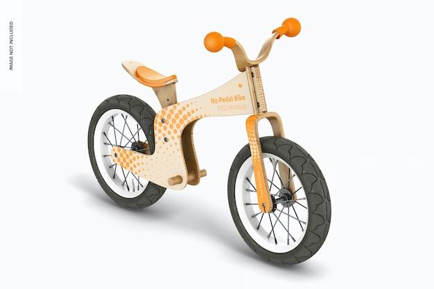 Kein pedalbike-modell, perspektive