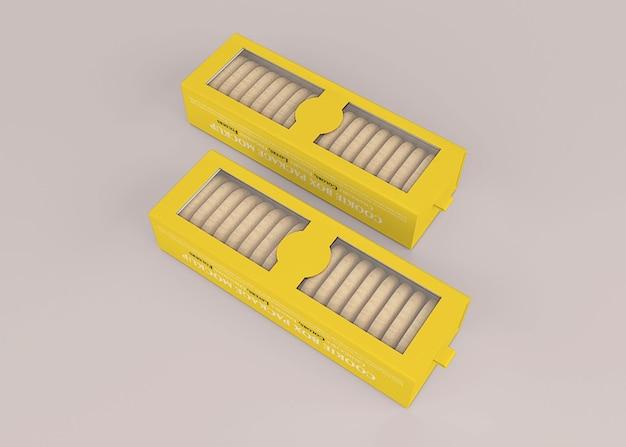 Keks-keksbehälter-box-modell box