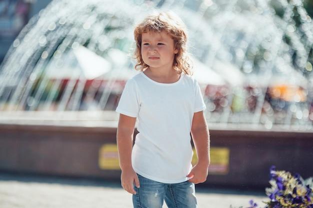 Kinder t-shirt mockup design