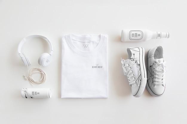 Kleidungs-briefpapier-modell