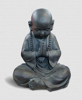 Kleiner buddha isoliert