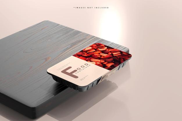 Kleines lebensmittelbehälter-modell
