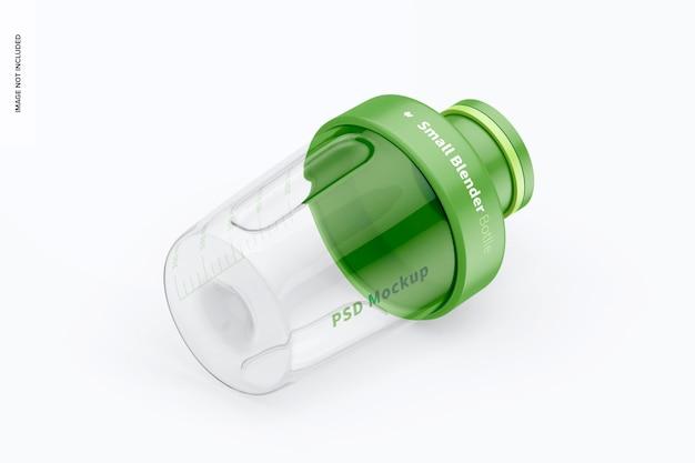 Kleines mixer-flaschenmodell, isometrische ansicht von rechts