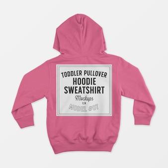 Kleinkind pullover hoodie sweatshirt modell