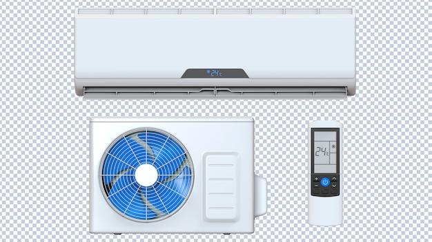 Klimaanlage eingestellt