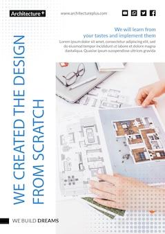 Konzeptvorlage für architektur