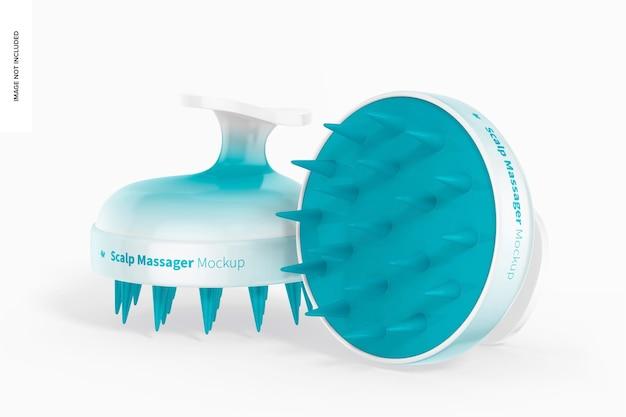 Kopfhautmassagegerät mockup
