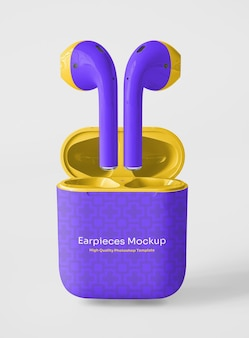 Kopfhörer mit verpackungsmodell