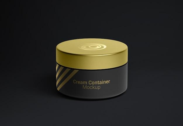 Kosmetikcremebehälterverpackungsmodell