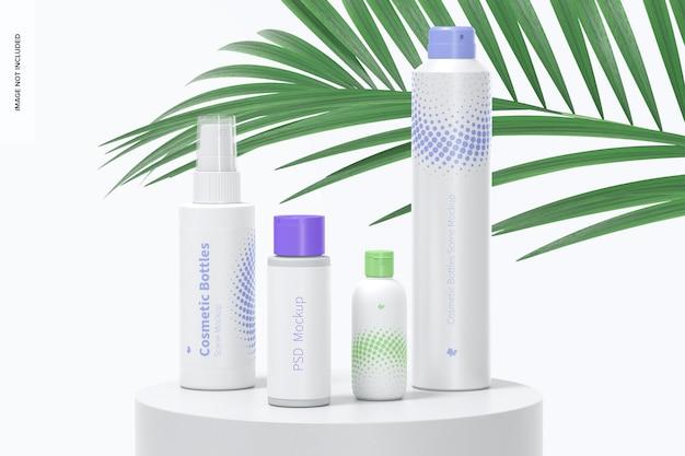 Kosmetikflaschen-szenenmodell