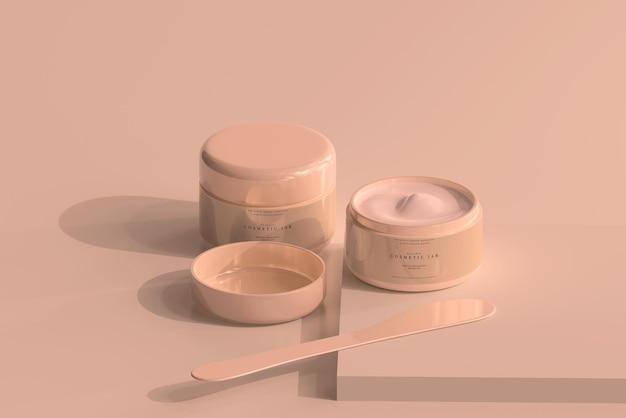 Kosmetikglas modell