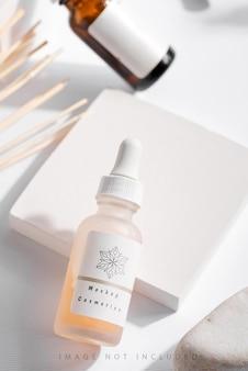 Kosmetikprodukte für die natürliche schönheit der hautpflege