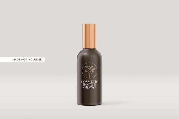 Kosmetikschlauch und flaschenmodell