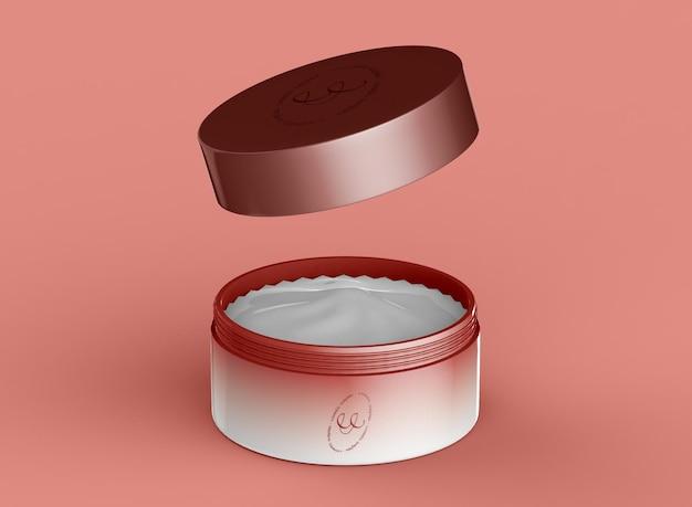 Kosmetiktopf-modell