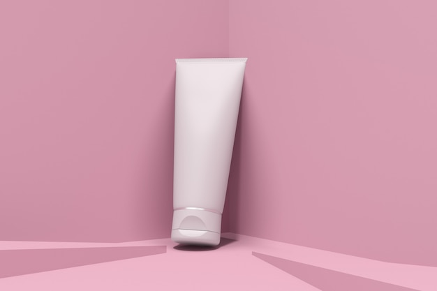 Kosmetikverpackungsmodell-hautpflege