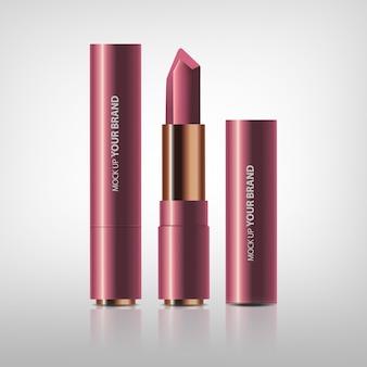 Kosmetische lippenstiftverpackung
