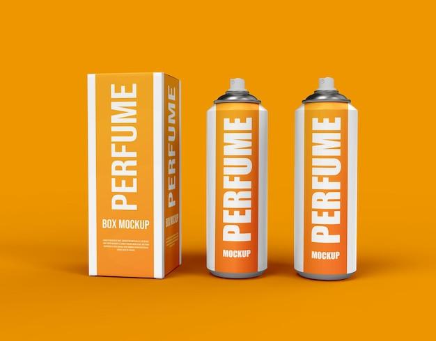 Kosmetische parfüm-sprühflasche oder kosmetisches branding-modell