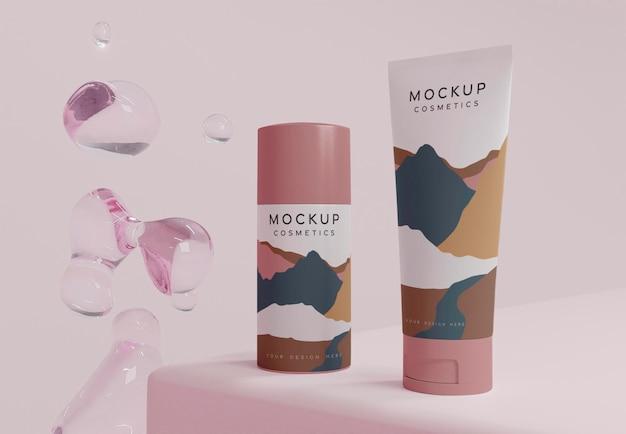 Kosmetische produkte und blasen