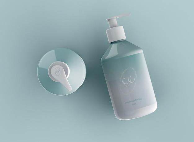 Kosmetische pumpflaschen-modell