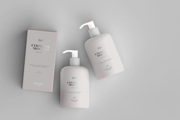 Kosmetische pumpflaschenmodelle