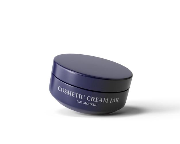 Kosmetisches cremeglas-modell