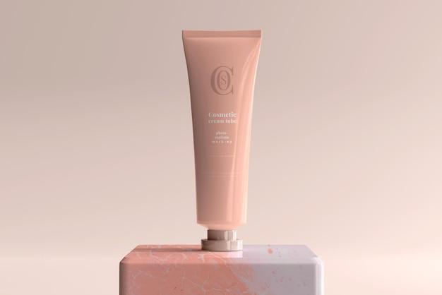 Kosmetisches cremetubenmodell