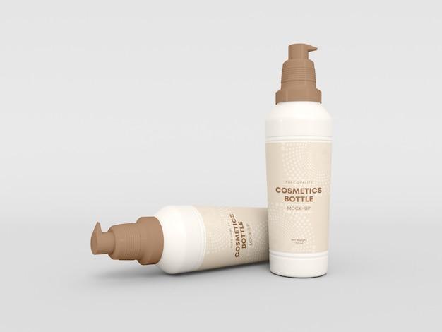 Kosmetisches flaschenmodell