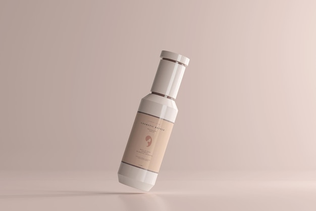 Kosmetisches plastikflaschenmodell