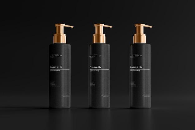 Kosmetisches pumpflaschenmodell