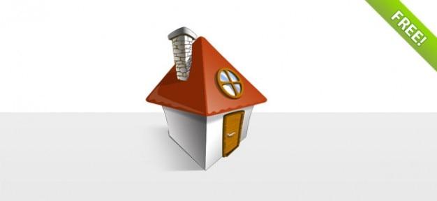 Kostenlose layered house icon