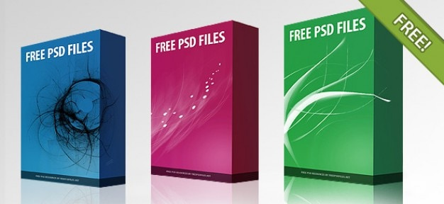 Kostenloses psd software box