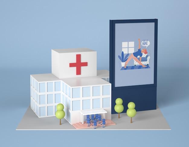 Krankenhaus mit robotern