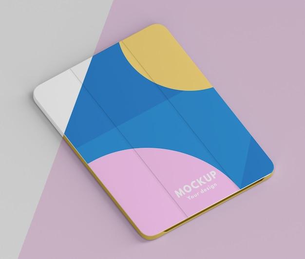 Kreative komposition des tablet-case-modells